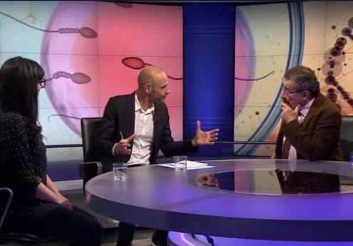 Professor Robert Winston on Newsnight - talking IVF cuts